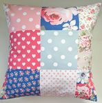 "Cushion Cover in Cath Kidston New Patchwork 14"" - 20"" (1)"